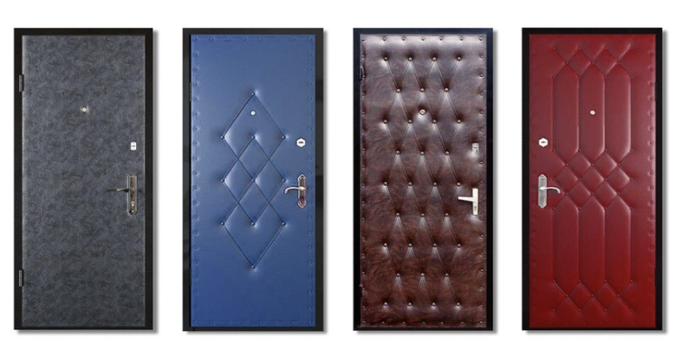 Замена обивки дверей в Самаре