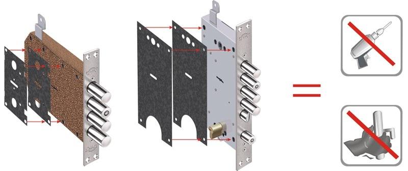 Установка бронепластин для защиты замков в Самаре
