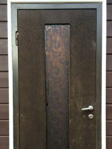 Замена накладки и наличника МДФ двери