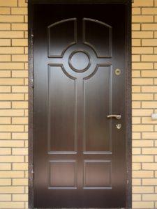 Замена накладки МДФ двери
