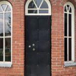 Замена обивки металлической двери с внешней стороны