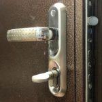 Замена замка CRIT в тамбурной двери
